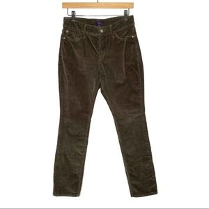 NYDJ Corduroy Skinny Legging Pants Jeggings
